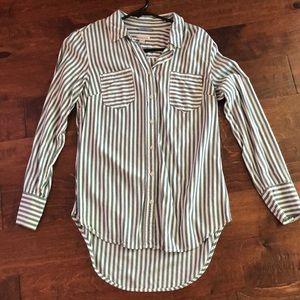 Trendy merona button down shirt